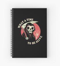 Cuaderno de espiral Qué tiempo de estar vivo