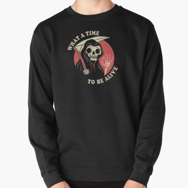 What A Time To Be Alive Pullover Sweatshirt