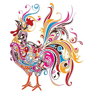 ROOSTER, in Colour by TOMSREDBUBBLE