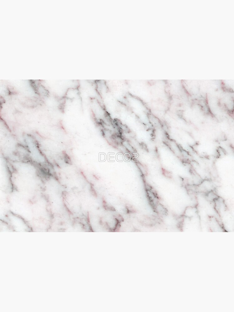 Soft Pink and Charcoal Veins on Whipped Cream Marble by DEC02