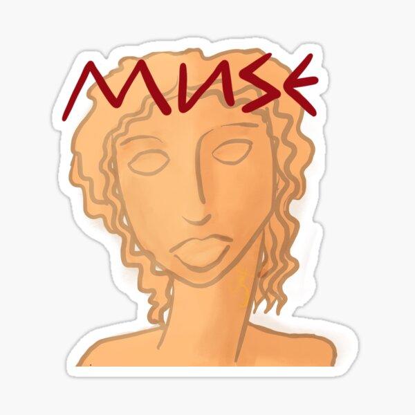 Greek Muse Sticker