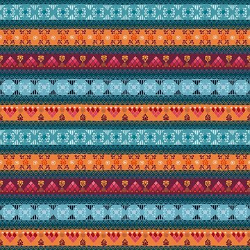 Tribal Pattern - Triple by Skullz23