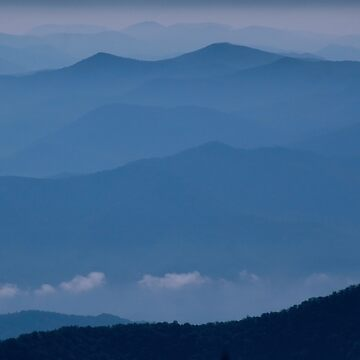 The Far Blue Mountains by suddath