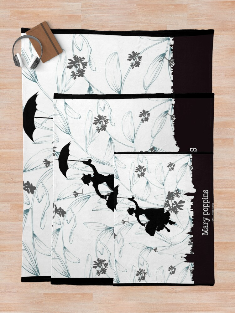 Alternate view of Mary Poppins Throw Blanket