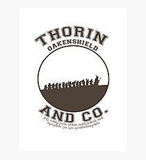 Thorin & Co. {Without symbol} Photographic Print