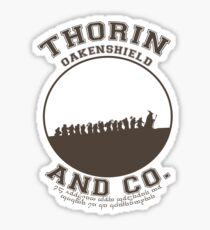 Thorin & Co. {Without symbol} Sticker