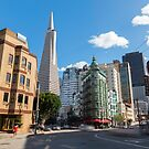 San Francisco - New and Old  by Mattia  Bicchi Photography