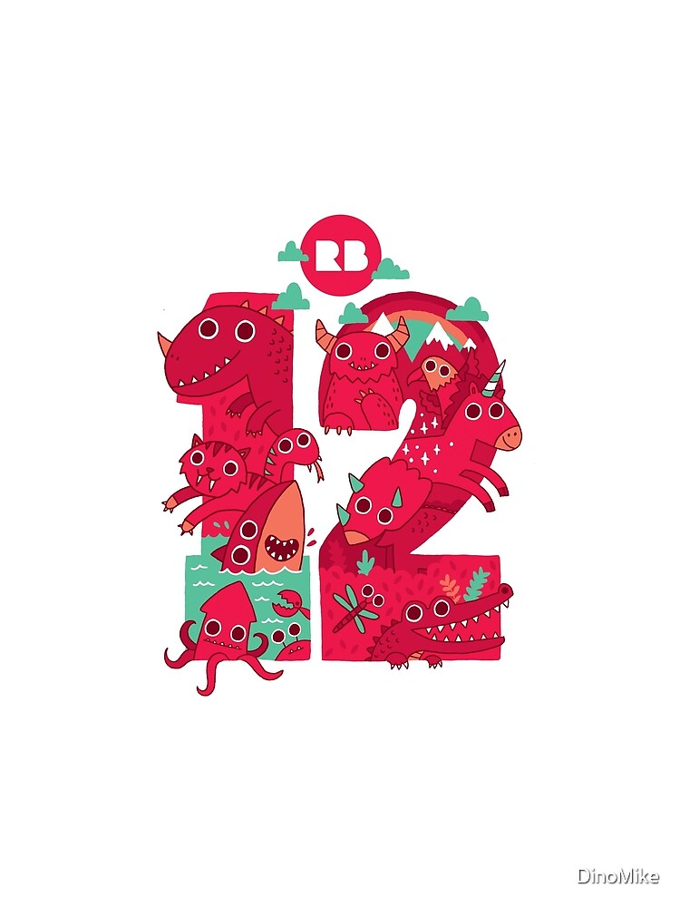 Redbubble's 12th Birthday by DinoMike