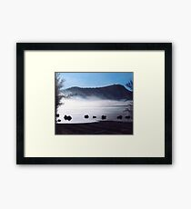 Campbell Lake Framed Print