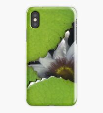 Submerged bloom iPhone Case/Skin