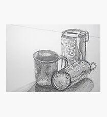 Coca Cola Study Sketch Photographic Print