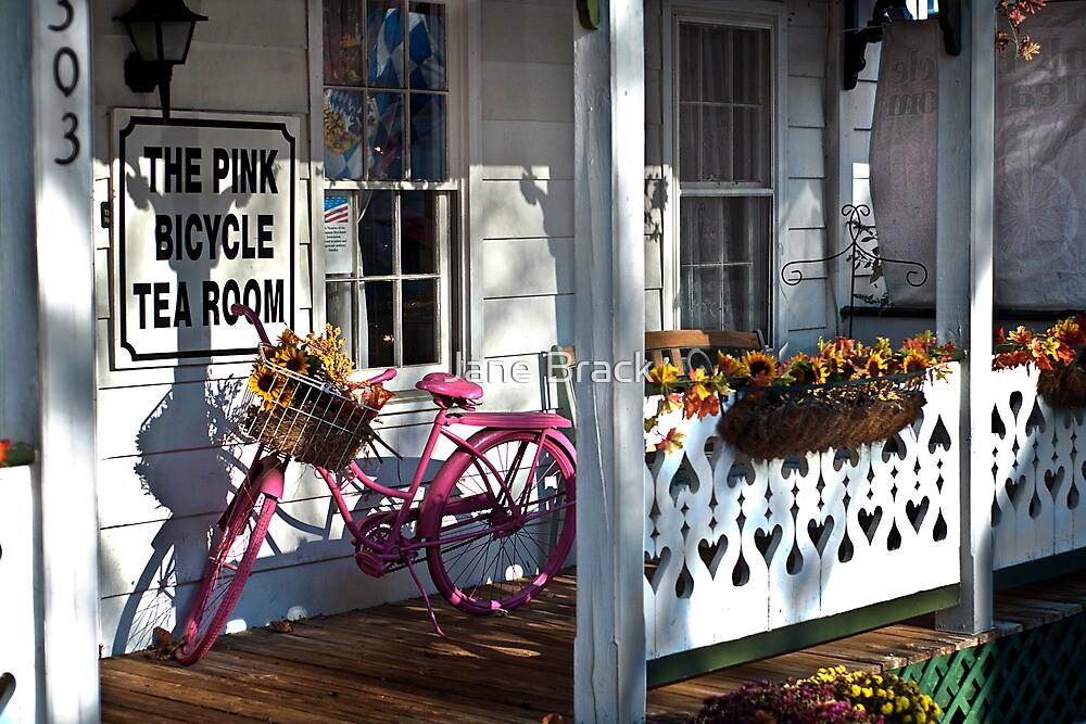 The Pink Bicycle Tea Room by Jane Brack