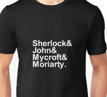 Alternative Beatles Sherlock Style. Unisex T-Shirt