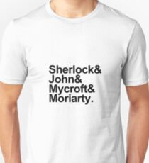 The Beatles Sherlock Style Unisex T-Shirt