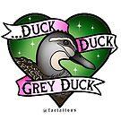 Duck Duck Grey Duck by jordannelefae