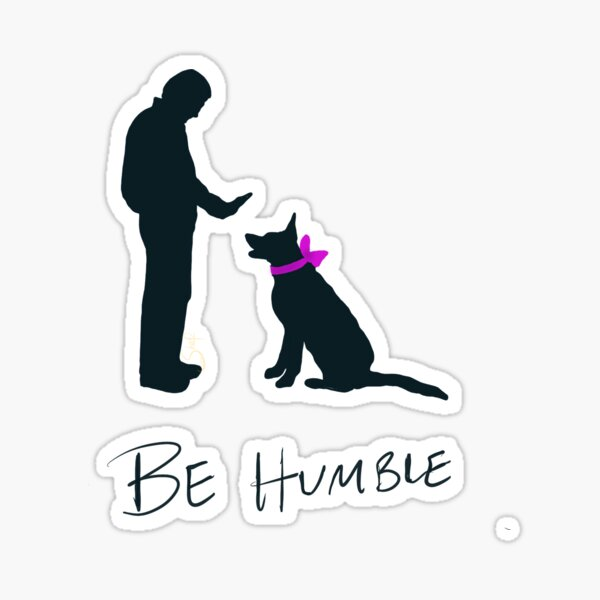 Humbled Pet Sticker