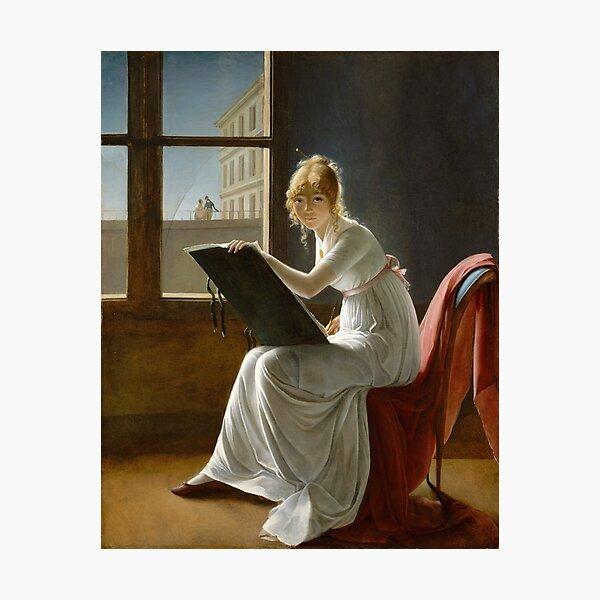 Charlotte du Val d'Ognes by Marie-Denise Villers (1801) Photographic Print