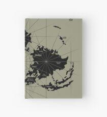 Cuaderno de tapa dura FF7 Vintage Map - Black Edition