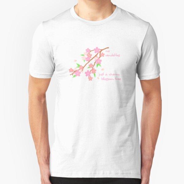 Manic Street Preachers - No Vendettas, Just A Cherry Blossom Tree Slim Fit T-Shirt