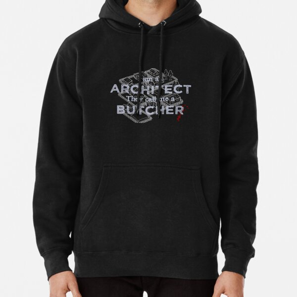 Manic Street Preachers - I Am An Architect, They Call Me A Butcher Pullover Hoodie
