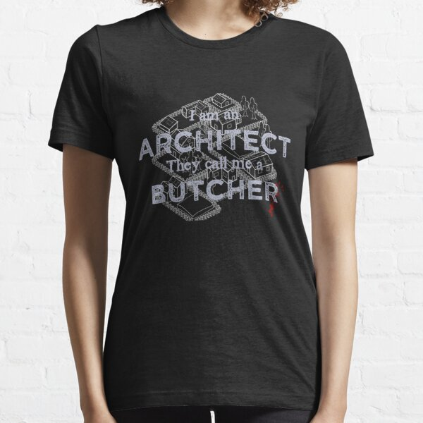 Manic Street Preachers - I Am An Architect, They Call Me A Butcher Essential T-Shirt