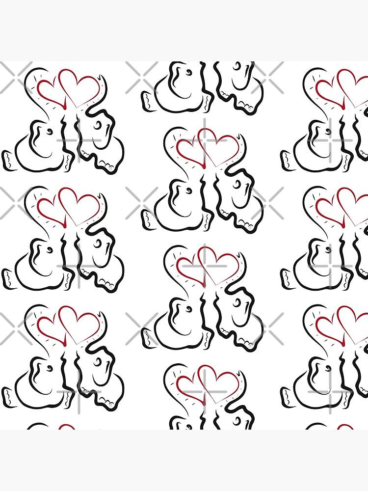 Amor elefante 2 de ALEFANTICA