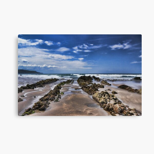 Widemouth Bay Rock Formation Canvas Print