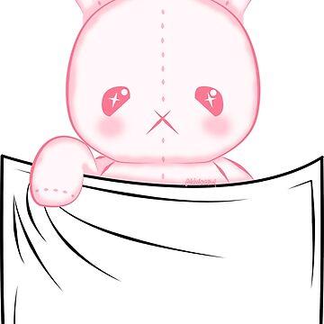 Pocket Stuffed Bunny by NicholiCosplay