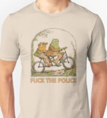 "Frosch und Kröte ""FCK the Police"" Slim Fit T-Shirt"