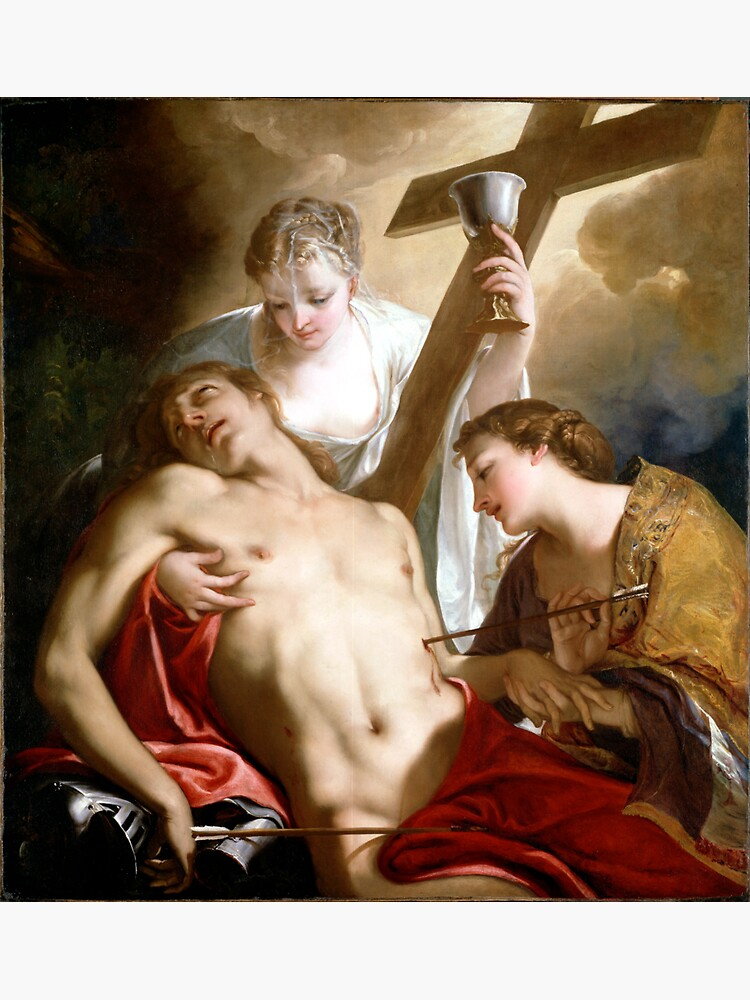 Antonio Bellucci St. Sebastian by pdgraphics
