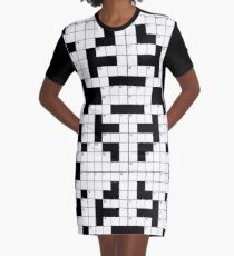 Crossword Game! Graphic T-Shirt Dress