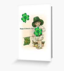 Vintage St. Patrick's Toy Joy Greeting Card