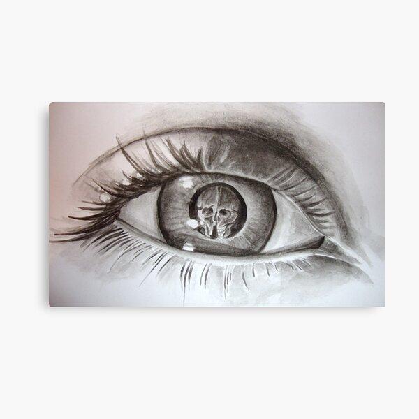 escher eye. Canvas Print
