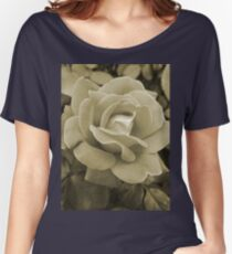 Faded Rose Women's Relaxed Fit T-Shirt