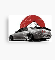 Nissan Skyline R32 Canvas Print