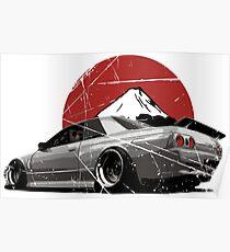 Póster Nissan Skyline R32