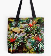 Vivid Tropic Tote Bag