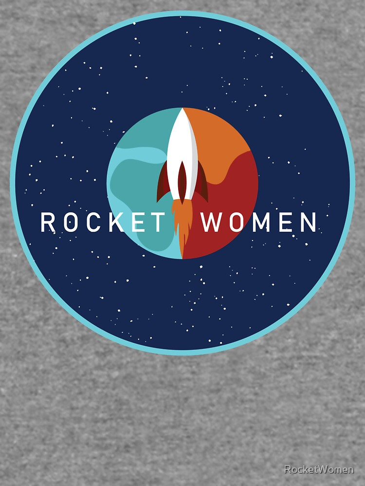 Rocket Women - Space Logo by RocketWomen
