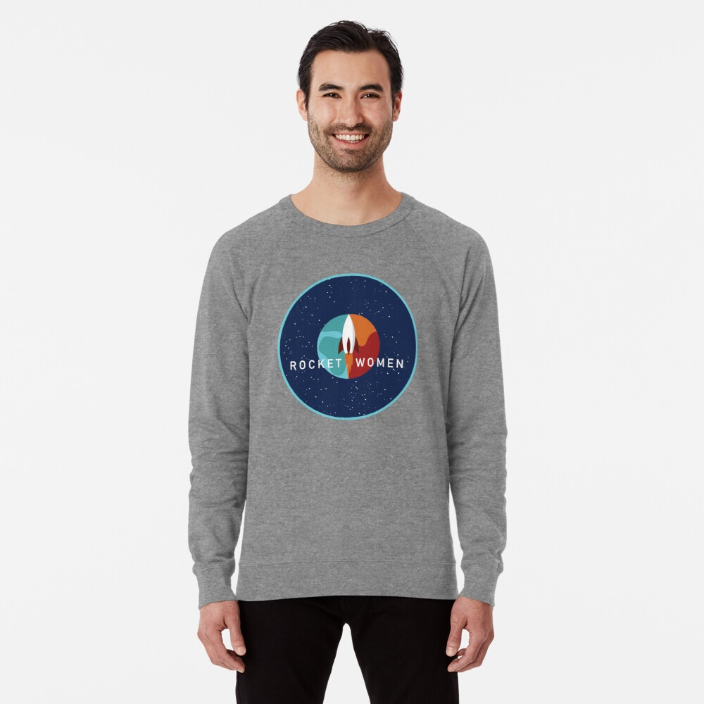 Rocket Women - Space Logo Lightweight Sweatshirt