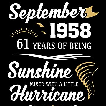 September 1958 Sunshine Mixed With A Little Hurricane by lavatarnt