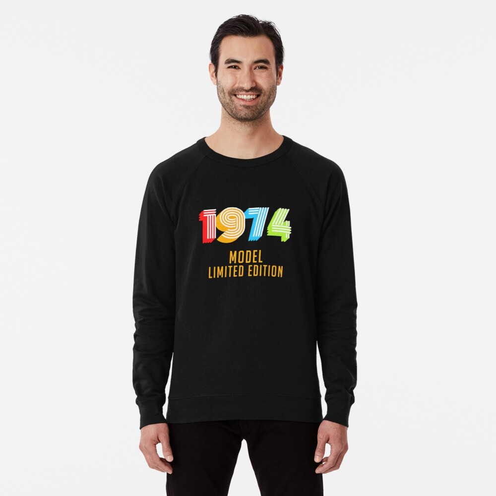 1974 Model Limited Edition Funny 45th Birthday Shirt For Men Or