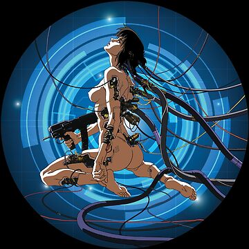 Ghost in a shell.Anime, Manga, Sci-fi,Movie by carlosafmarques