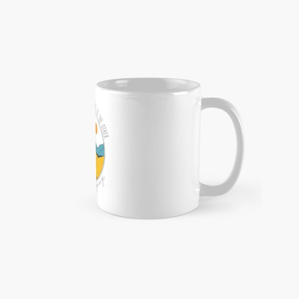 Just put one foot in front of the other (in colour) Classic Mug