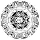 Transformation Mandala by REBECCA LEAH DESIGNS