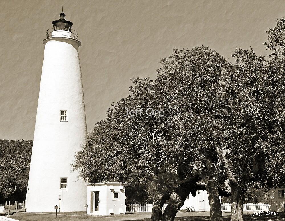 Ocracoke Light House by Jeff Ore