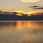 typical ohrid sunset by distracted