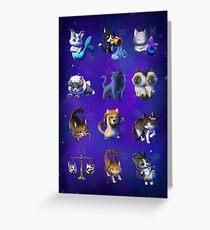 Signes du Zodiaque Carte de vœux