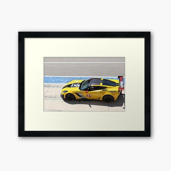 Z06-R Track Ready  Framed Art Print