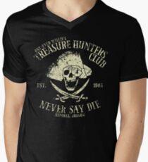 Treasure Hunters Club Men's V-Neck T-Shirt