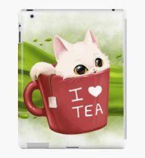 Tea cat Coque et skin iPad